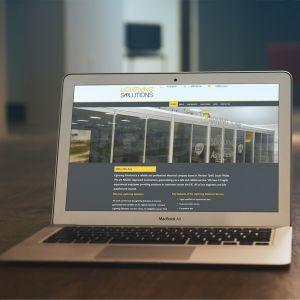 Website for Electricians, Lightning Solutions UK website