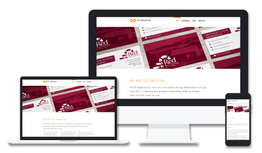 Eye catching business cards cp creative our website package provides fully responsive websites at affordable prices all our websites come with a free web domain and are fully supported colourmoves