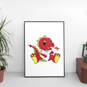 MVHomes Dragon Illustration, Illustration, Graphic Design Merthyr Tydfil